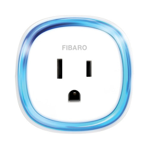 Fibaro Z-Wave Smart Plug Front View