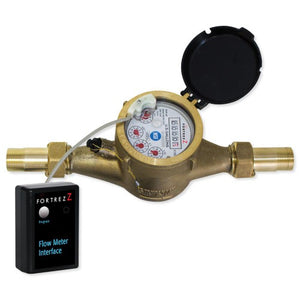 FortrezZ Z-Wave Smart Water Flow Meter