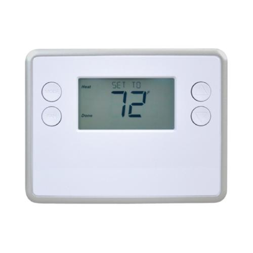 GoControl GC-TBZ48 Z-Wave Battery-Powered Smart Thermostat - Front View