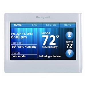 Honeywell Wi-Fi 9000 Smart Thermostat - Front View