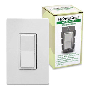 HomeSeer HS-WA100+ 3-Way Companion Smart Switch