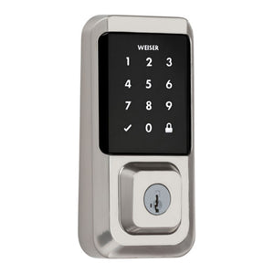 Weiser 9GED25000 Halo Wi-Fi Touchscreen Smart Lock