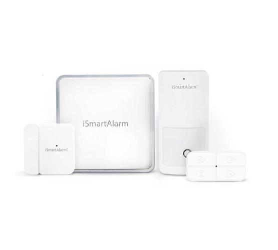 iSmartAlarm Home Security Starter Package Front View
