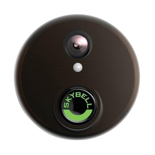 SkyBell HD Wi-Fi Video Doorbell Bronze