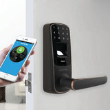 Ultraloq UL3 BT Bluetooth Enabled Fingerprint and Touchscreen Smart Lock