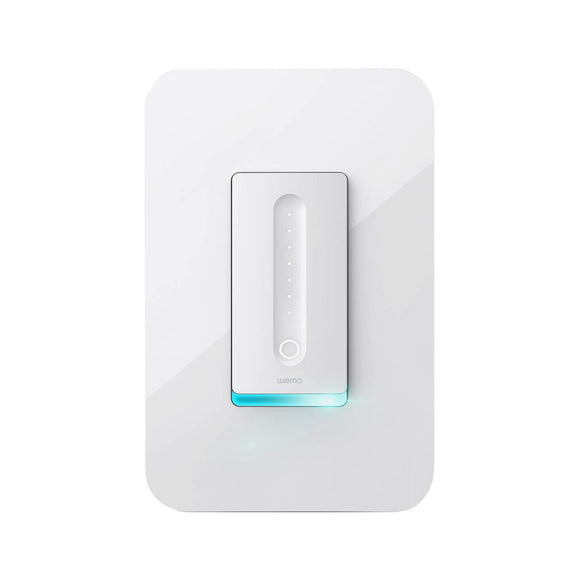 Wemo WiFi Smart Dimmer - Front View