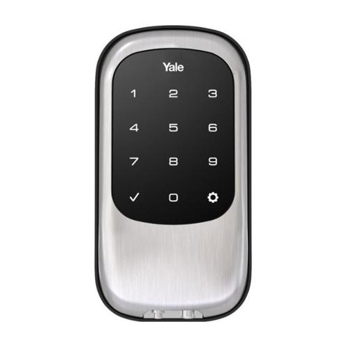 Yale T1L Smart Lock - Nickel Front