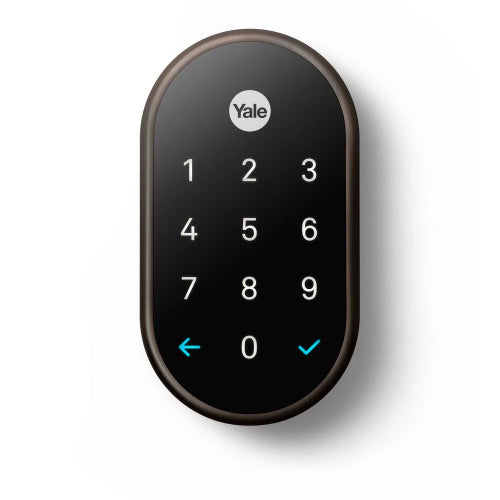Nest x Yale Wi-Fi Smart Lock and Nest Connect - Oil Rubbed Bronze