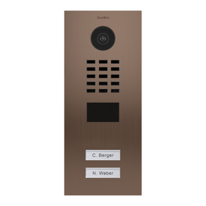 DoorBird 2-Call Button IP Video Door Station