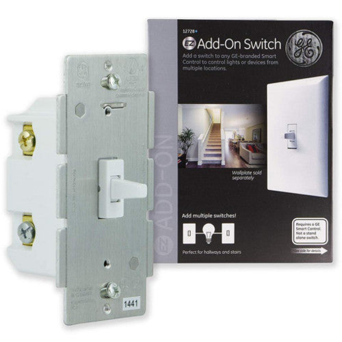 GE Z-Wave In-Wall Add-On Toggle Smart Switch
