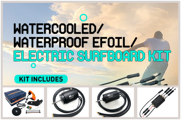 Efoil Electric Surfboard Kit 85165 Motor/300A ESC/Remote Specifications and Advantages