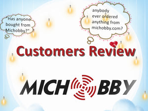 """Has anyone bought from Michobby? Is it legit?"" -- Check our customers reviews!"
