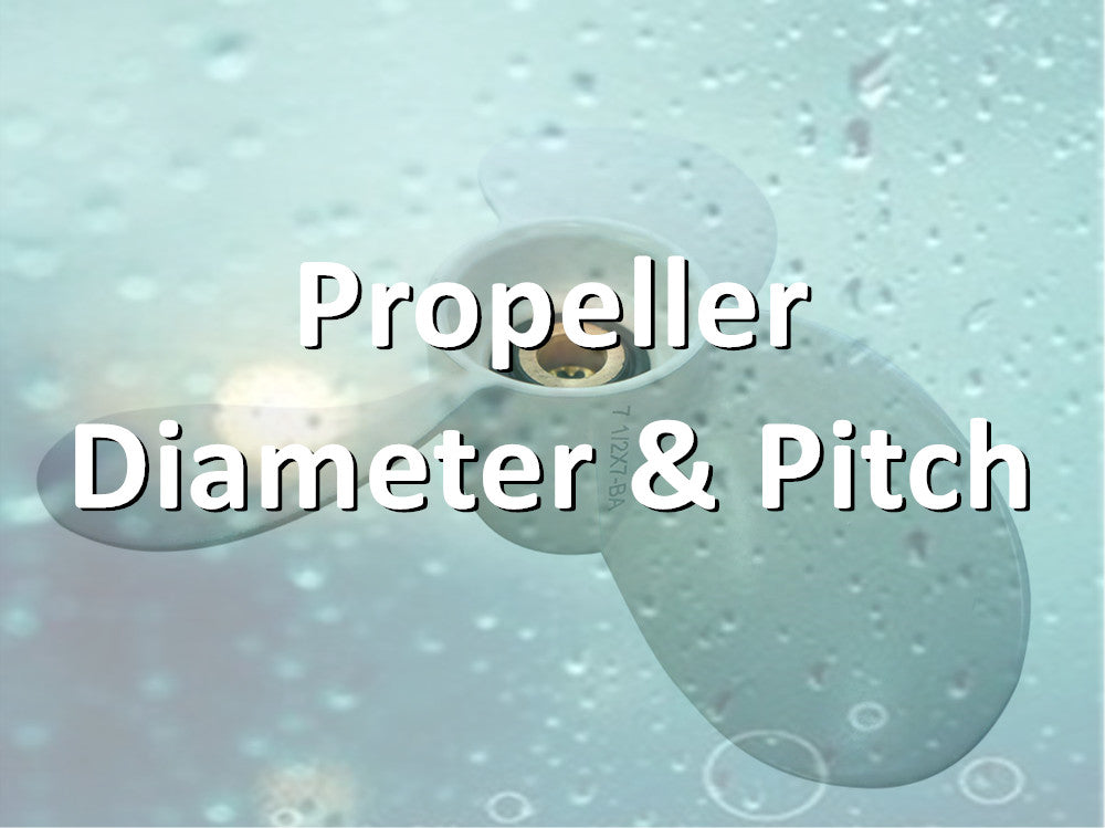 What is Efoil/Surfboard propeller diameter and pitch