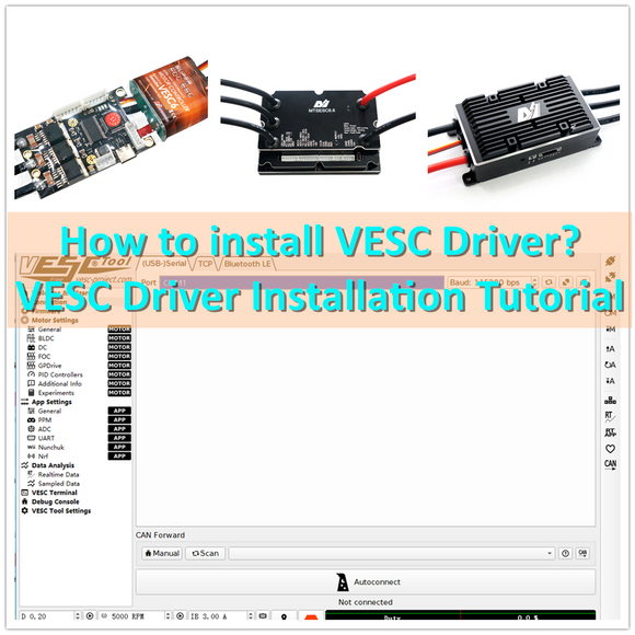 How to install VESC Driver? VESC Driver Installation Tutorial
