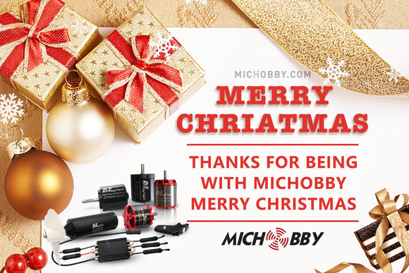 Merry Christmas Sale MICHOBBY Promotion