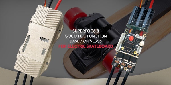 Maytech SUPERFOC6.8 SPEED CONTROLLER 50A FOR ELECTRIC SKATEBOARD MOUNTAINBOARD ESC WITH ALUMINUM CASE