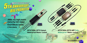 Watercooled ESC for efoils, electric surfboard, underwater drone, electric hydrofoil,