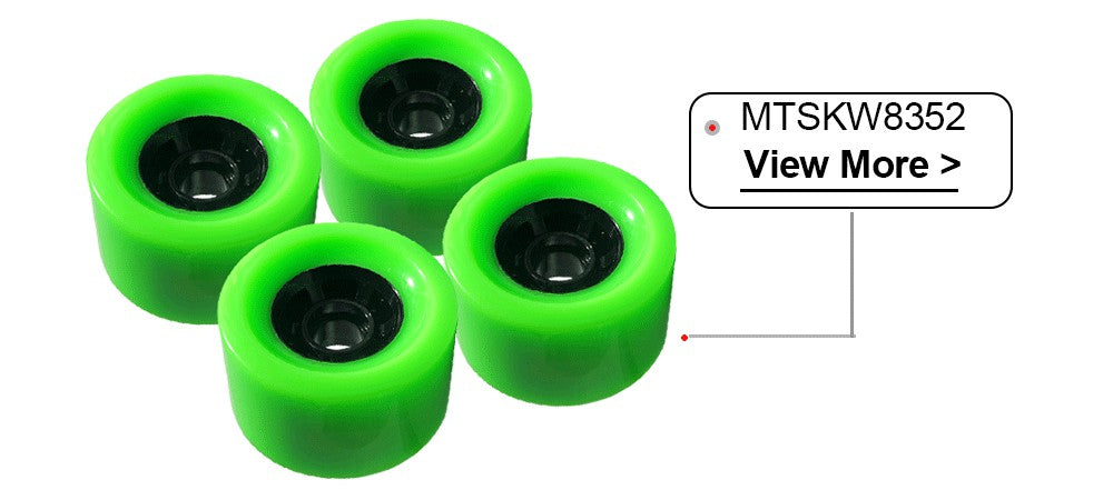 Electric Skateboard Wheels (4pcs) 83mm wheels