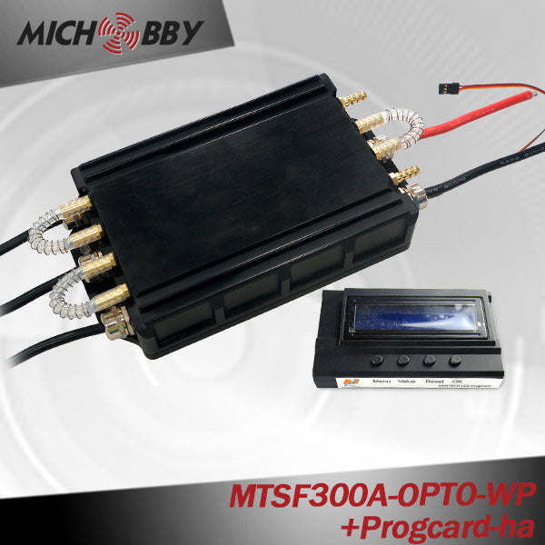 MICHOBBY 300A ESC 100% Waterproof Electric Speed Controller for Eletric Surfboard Efoil