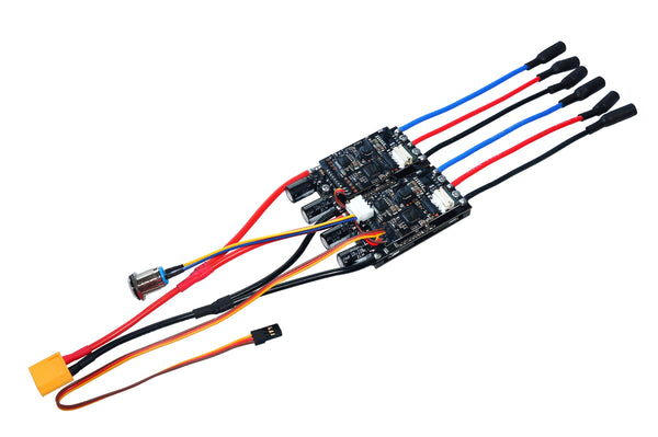 Maytech electric dual hub motor kit electric speed controller ESC 30A
