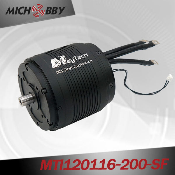 MAYTECH BRUSHLESS INRUNNER MOTOR FOR ELECTRIC SURFBOARD RC BOAT MTI120116-200-SF