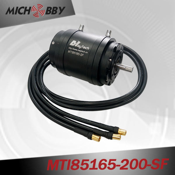 FULLY WATERPROOF MTI85165 210KV INRUNNER BRUSHLESS SENSORLESS MOTOR FOR ESURF/EFOIL/RC BOAT KV CUSTOMIZED