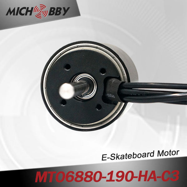 maytech electric speed controller for 6880 motor 10mm shaft NSK ball bearing for Esk8 all terrain offroad skateboard