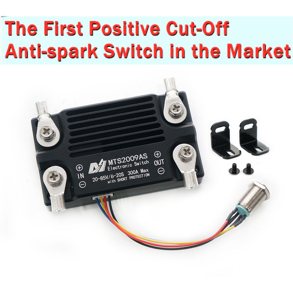 Maytech 300A 85V antispark switch battery cut off switch with short circuit protection for electric hydrofoil surfboard efoil