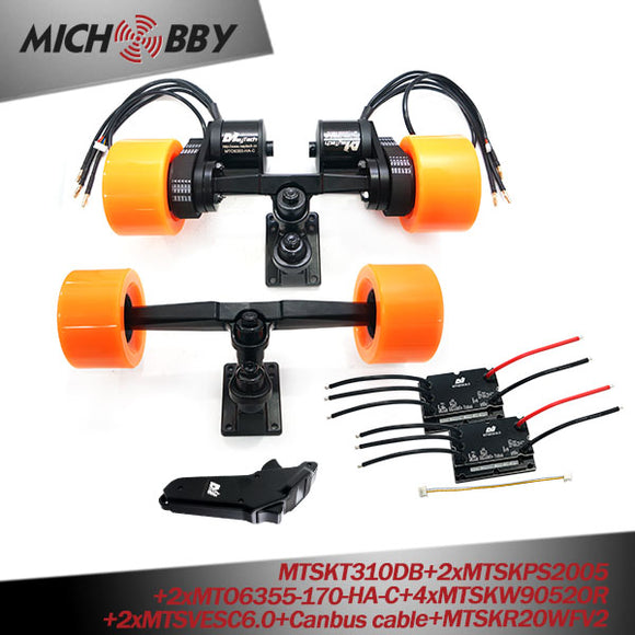 In Stock! Maytech VESC6.0 V2 Screen Remote Sealed Waterproof Dustproof Motor 6355 6365 6374 DIY Electric Skateboard Kit
