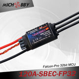 120A 8S FP Brushless ESC 32bit Speed Controller for RC Airplanes MT120A‐SBEC‐FP32