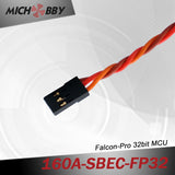 160A 6S FP Brushless ESC 32bit Speed Controller for RC Airplanes MT160A‐SBEC‐FP32