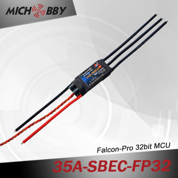 35A 4S FP Brushless ESC 32bit Speed Controller for RC Airplanes MT35A‐SBEC‐FP32