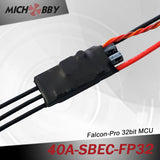 40A 6S FP Brushless ESC 32bit Speed Controller for RC Airplanes MT40A‐SBEC‐FP32