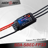 50A 6S FP Brushless ESC 32bit Speed Controller for RC Airplanes MT50A‐SBEC‐FP32