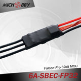 6A 2S FP Brushless ESC 32bit Speed Controller for RC Airplanes MT6A‐SBEC‐FP32