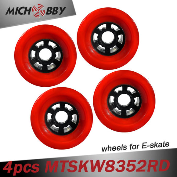 In Stock! 4PCS Longboard Wheels Electric Skateboard Wheel 97mm/90mm/83mm