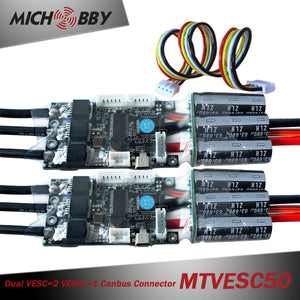Maytech VESC50A 2pcs/set Electric Speed Controller for Electric Skateboard Mountainboard