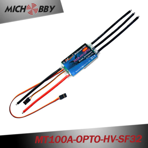 100A 12S HV Brushless ESC BLHeli_32 ESC for multicopters drones MT100A-OPTO-HV-SF32