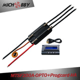 Maytech 200A 8LIPO OPTO ESC with Water-cooling Aluminum Case Controller for electric boat baitboat remote controled boat