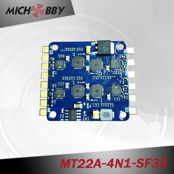 22A 4in1 Brushless ESC BLHeli_32 mini Electric speed controller for multicopters drones MT22A-4N1-SF32