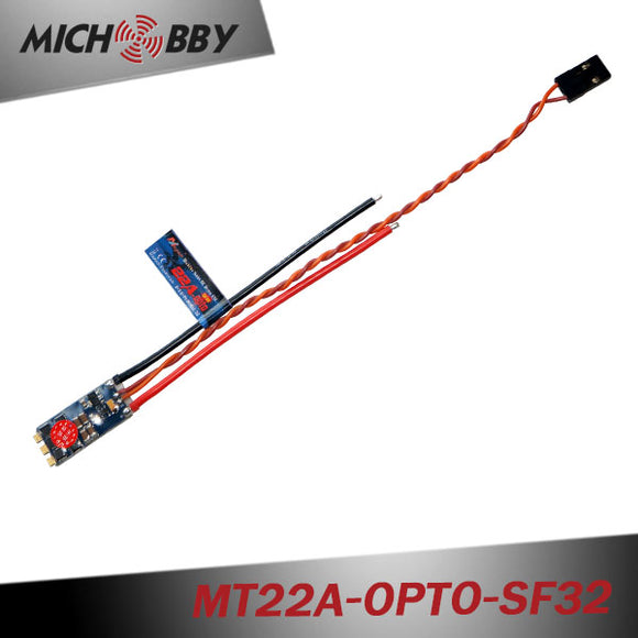 22A Brushless ESC BLHeli_32 mini ESC for multicopters drones MT22A-OPTO-SF32