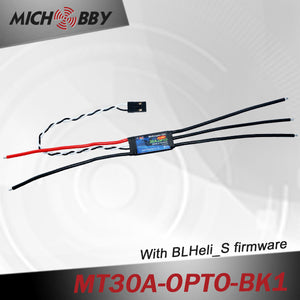 30A Brushless ESC BLHeli_S Firmware Speed controller for Multicopters Drones MT30A-OPTO-BK1/BK2
