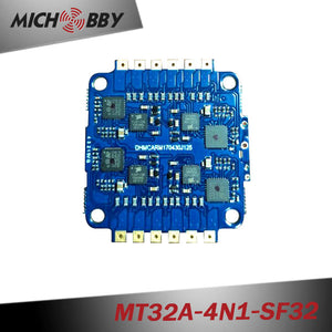 32A 4in1 Brushless ESC BLHeli_32 mini Electric speed controller for multicopters drones MT32A-4N1-SF32