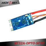 32A Brushless ESC BLHeli_32 mini ESC for multicopters drones MT32A-OPTO-SF32