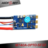 40A Brushless ESC BLHeli_32 mini ESC for multicopters drones MT40A-OPTO-SF32