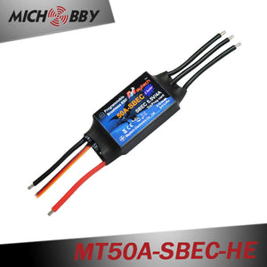 50A 4S ESC Brushless Electric Speed Controller for RC Airplanes Helicopters MT50A-SBEC-HE