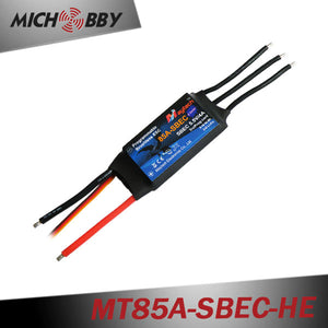 85A 6S ESC Brushless Electric Speed Controller for RC Airplanes Helicopters MT85A‐SBEC‐HE