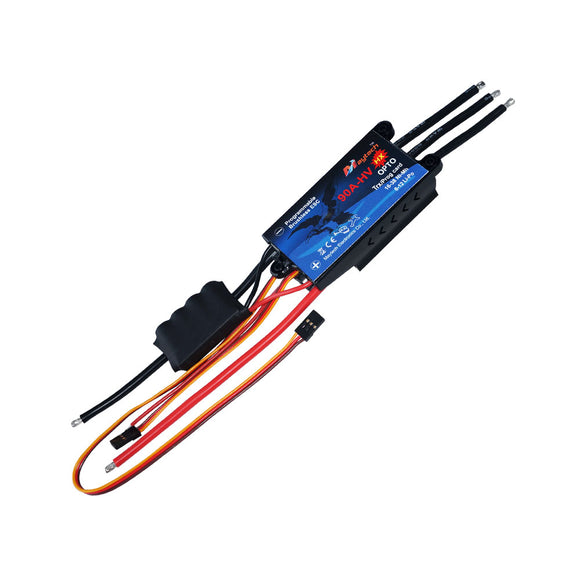 90A 6S-12S ESC Brushless Electric Speed Controller for RC Airplanes Helicopters MT90A‐HV‐OPTO‐HX