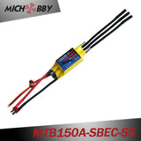 MTB150A-SBEC-SS 150A 6S Speed Controller for GPS FISHFINDER AUTOPILOT Baitboat propulsion systems