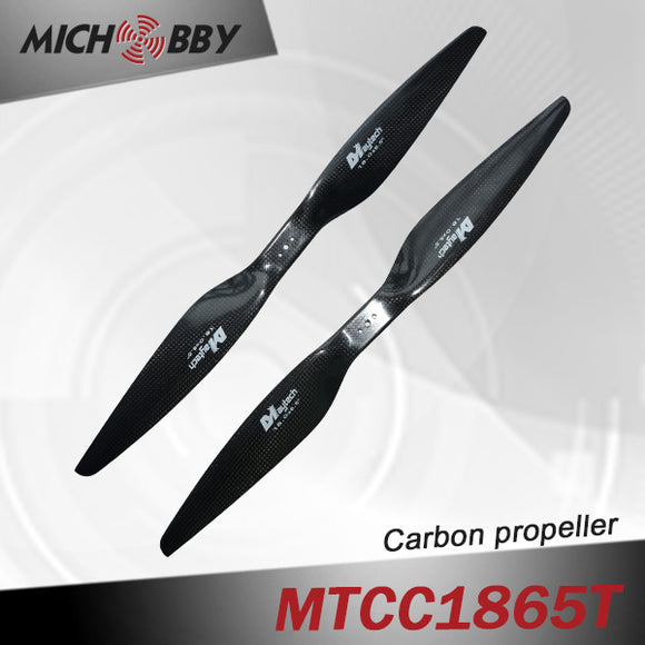 Carbon fiber propeller 18.0X6.5inch for big agricultural drone